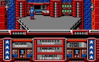 Captain America Defies the Doom Tube