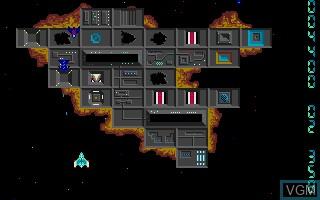 Image in-game du jeu Quasar sur Atari ST