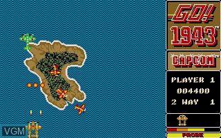 Image in-game du jeu 1943 sur Atari ST
