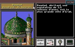 Image in-game du jeu A La Poursuite de Carmen Sandiego dans le Monde sur Atari ST