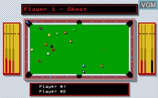 Image in-game du jeu 8-Ball sur Atari ST
