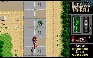 Image in-game du jeu 007 - Licence to Kill sur Atari ST