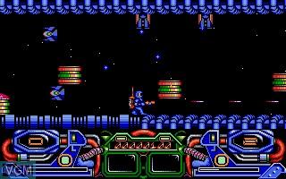 Image in-game du jeu Dark Fusion sur Atari ST