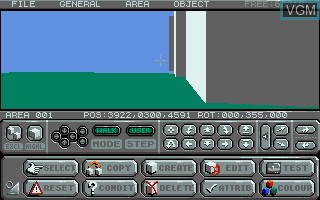 Image in-game du jeu 3D Construction Kit, The - Featuring Freescape II sur Atari ST