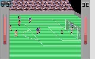 Image in-game du jeu 3-D Soccer Link Pack sur Atari ST