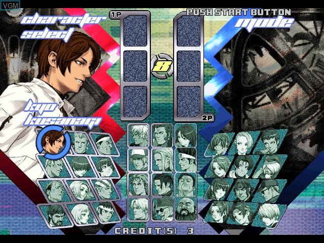 Image du menu du jeu King of Fighters, The - Neowave sur Atomiswave