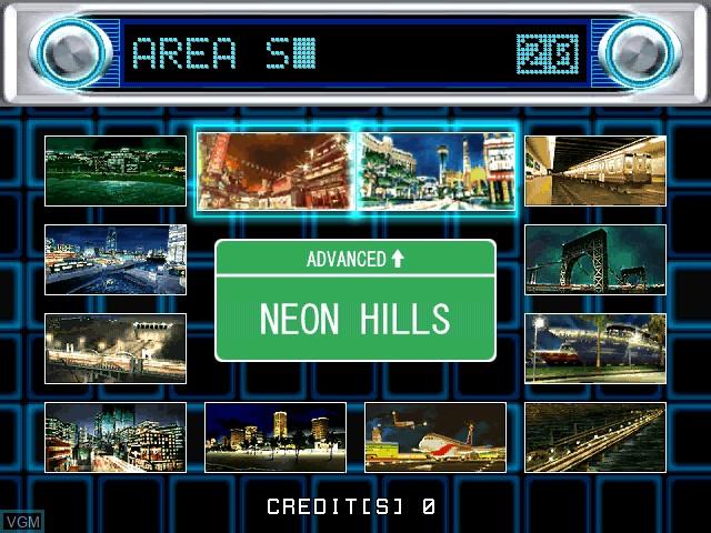 Image du menu du jeu Faster Than Speed sur Atomiswave