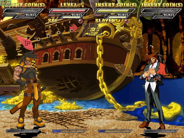 Image in-game du jeu Guilty Gear Isuka sur Atomiswave
