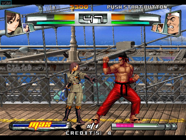 Image in-game du jeu King of Fighters, The - Neowave sur Atomiswave