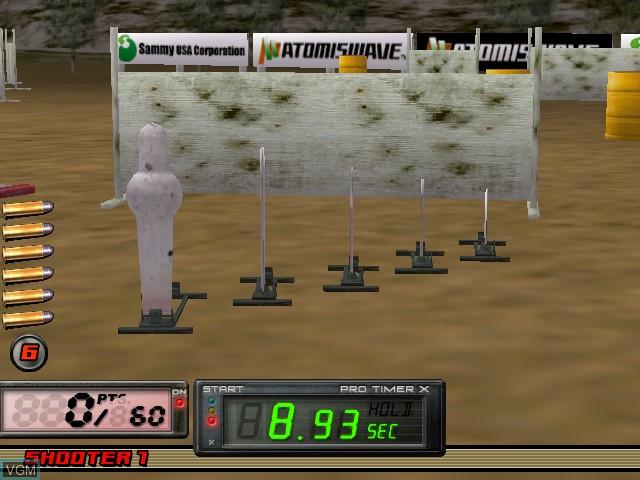 Image in-game du jeu Sports Shooting USA sur Atomiswave