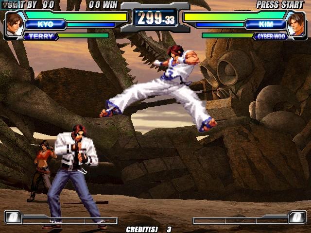 Image in-game du jeu Neogeo Battle Coliseum sur Atomiswave