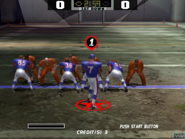 Image in-game du jeu Dirty Pigskin Football sur Atomiswave