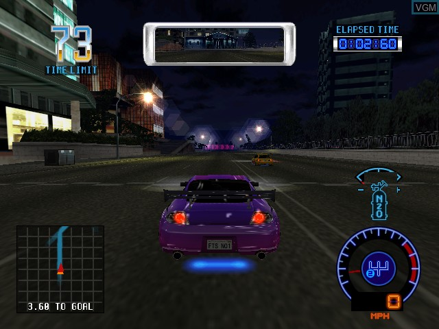 Image in-game du jeu Faster Than Speed sur Atomiswave
