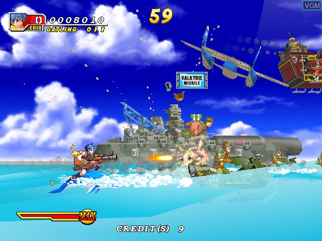 Image in-game du jeu Dolphin Blue sur Atomiswave