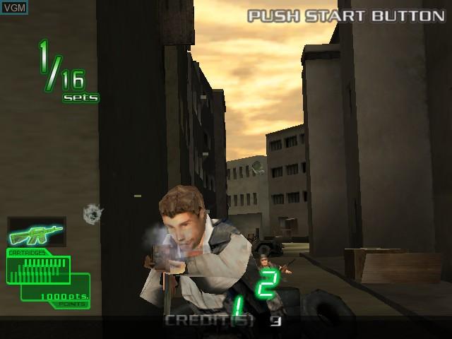 Image in-game du jeu Ranger Mission sur Atomiswave