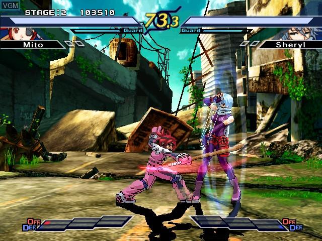 Image in-game du jeu Rumble Fish 2, The sur Atomiswave