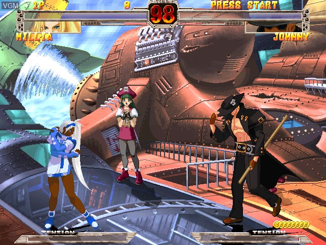 Image in-game du jeu Guilty Gear X Ver. 1.5 sur Atomiswave
