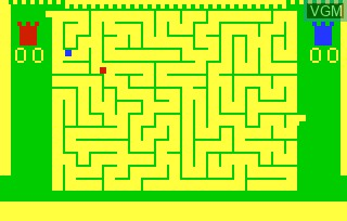 Image in-game du jeu Amazing Maze & Tic-Tac-Toe sur Bally Astrocade