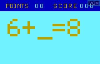 Image in-game du jeu Elementary Math & Bingo Math AKA Speed Math & Bingo Math sur Bally Astrocade