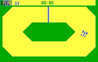 Image in-game du jeu Grand Prix AKA Grand Prix & Demolition Derby sur Bally Astrocade