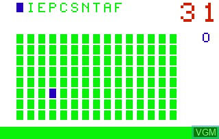 Image in-game du jeu Letter Match & Spell 'n Score & Crosswords sur Bally Astrocade