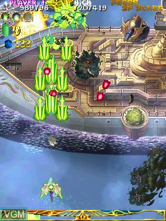 Image in-game du jeu Espgaluda II sur Cave Cave 3rd