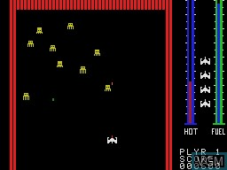 Image in-game du jeu Threshold sur Coleco Industries Colecovision
