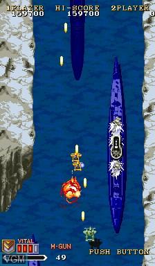 Image in-game du jeu 1941 - Counter Attack sur Capcom CPS-I