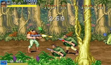 Image in-game du jeu Cadillacs and Dinosaurs sur Capcom CPS-I