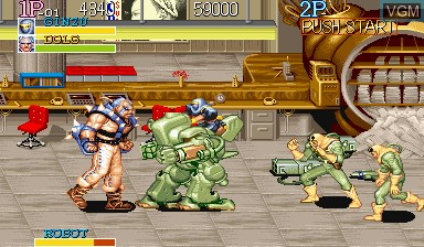 Image in-game du jeu Captain Commando sur Capcom CPS-I