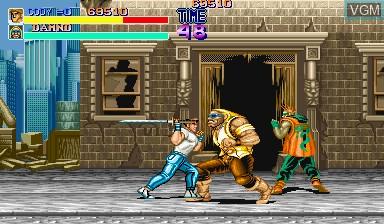 Image in-game du jeu Final Fight sur Capcom CPS-I