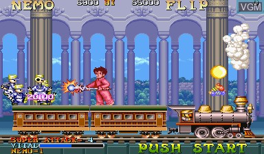 Image in-game du jeu Nemo sur Capcom CPS-I