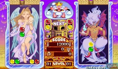 Image in-game du jeu Pnickies sur Capcom CPS-I