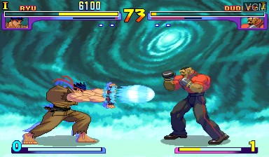 Image in-game du jeu Street Fighter III - New Generation sur Capcom CPS-III
