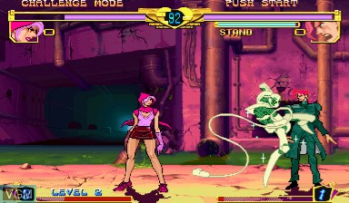 Image in-game du jeu Jojo's Bizarre Adventure - Heritage for the Future / JoJo no Kimyouna Bouken - Miraie no Isan sur Capcom CPS-III