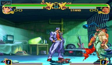 Image in-game du jeu Jojo's Venture/ JoJo no Kimyouna Bouken sur Capcom CPS-III