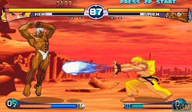 Image in-game du jeu Street Fighter III - 2nd Impact sur Capcom CPS-III