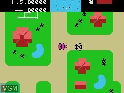 Image in-game du jeu Auto Chase sur VTech Creativision