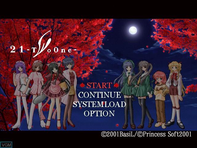 Image du menu du jeu 21 - Two One sur Sega Dreamcast