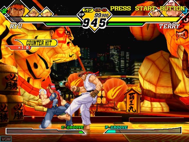 Capcom vs. SNK 2 - Millionaire Fighting 2001