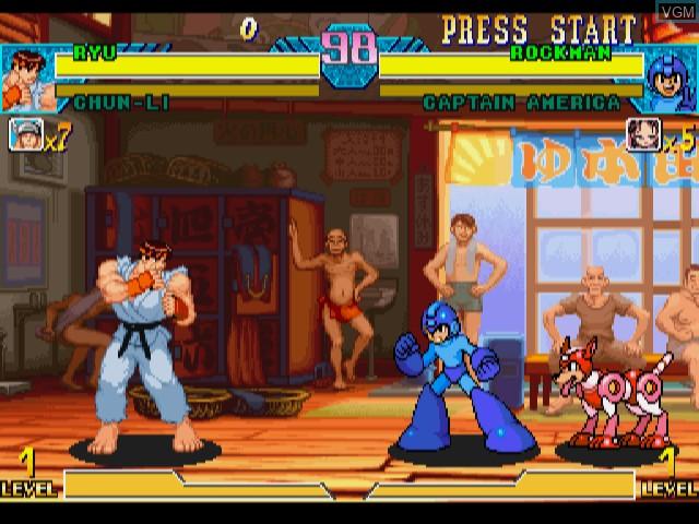 Marvel vs. Capcom - Clash of Super Heroes