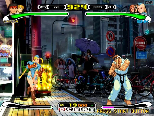 Capcom vs. SNK - Millennium Fight 2000 Pro