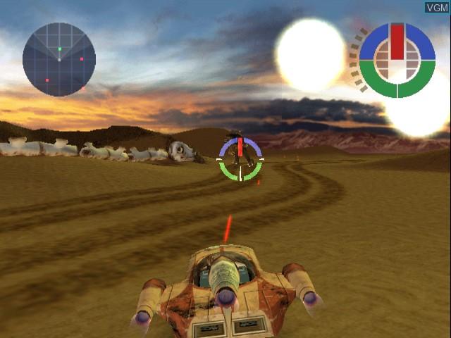 Image in-game du jeu Star Wars - Demolition sur Sega Dreamcast