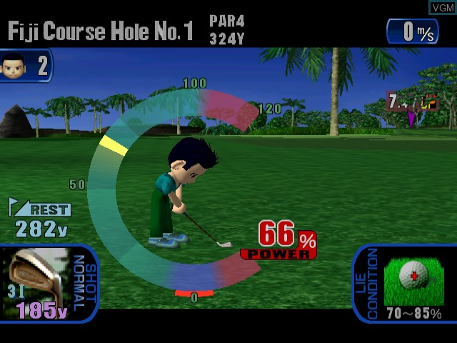 Golf Shiyouyo - Course Data Shuu Adventure-Hen