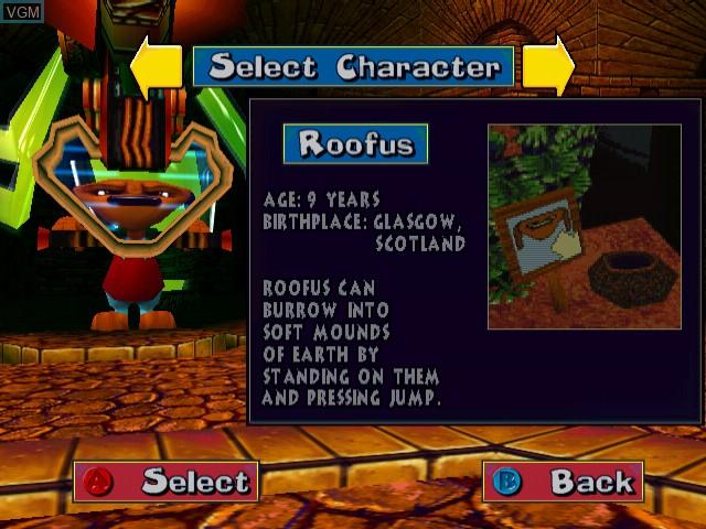 Image in-game du jeu Fur Fighters sur Sega Dreamcast