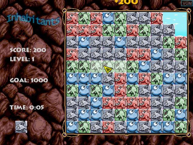 Image in-game du jeu Inhabitants sur Sega Dreamcast