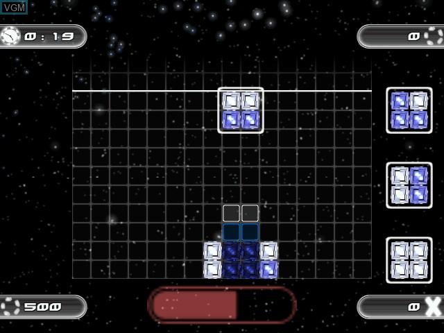 Image in-game du jeu Irides - Master of Blocks sur Sega Dreamcast
