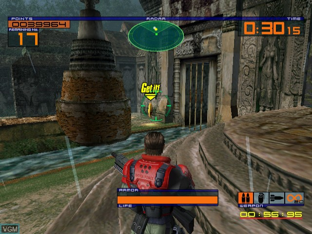 Image in-game du jeu OutTrigger - International Counter Terrorism Special Force sur Sega Dreamcast