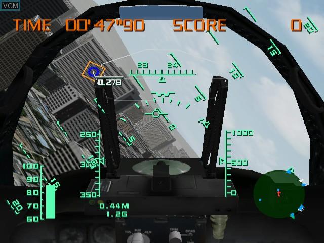 Image in-game du jeu AeroWings sur Sega Dreamcast