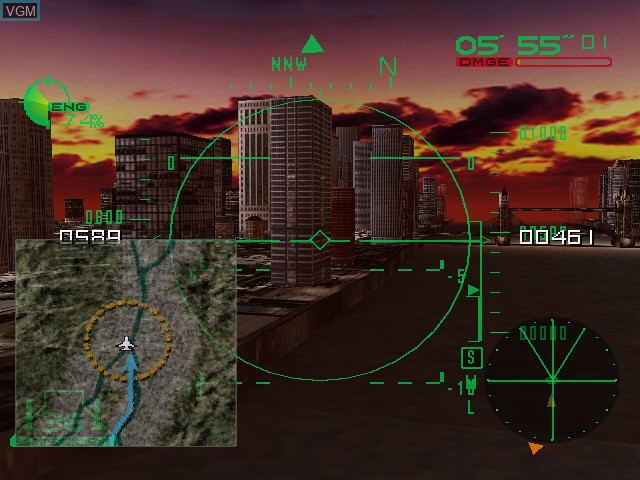 Image in-game du jeu Deadly Skies sur Sega Dreamcast
